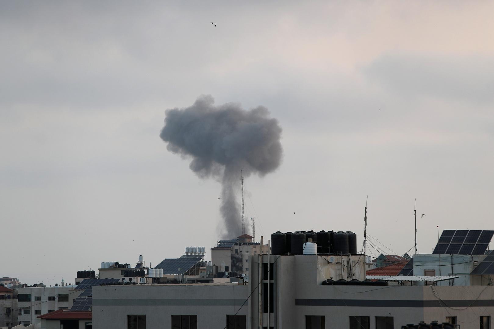 كتائب القسام تعلن استهداف مطار رامون بصاروخ ذي قوة تدميرية
