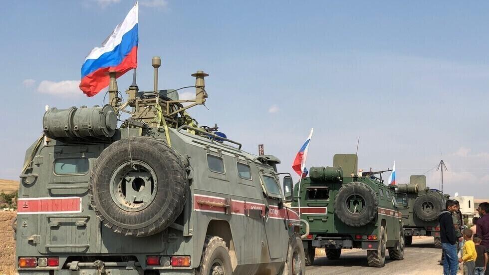 وحدات من الشرطة العسكرية الروسية في سوريا.