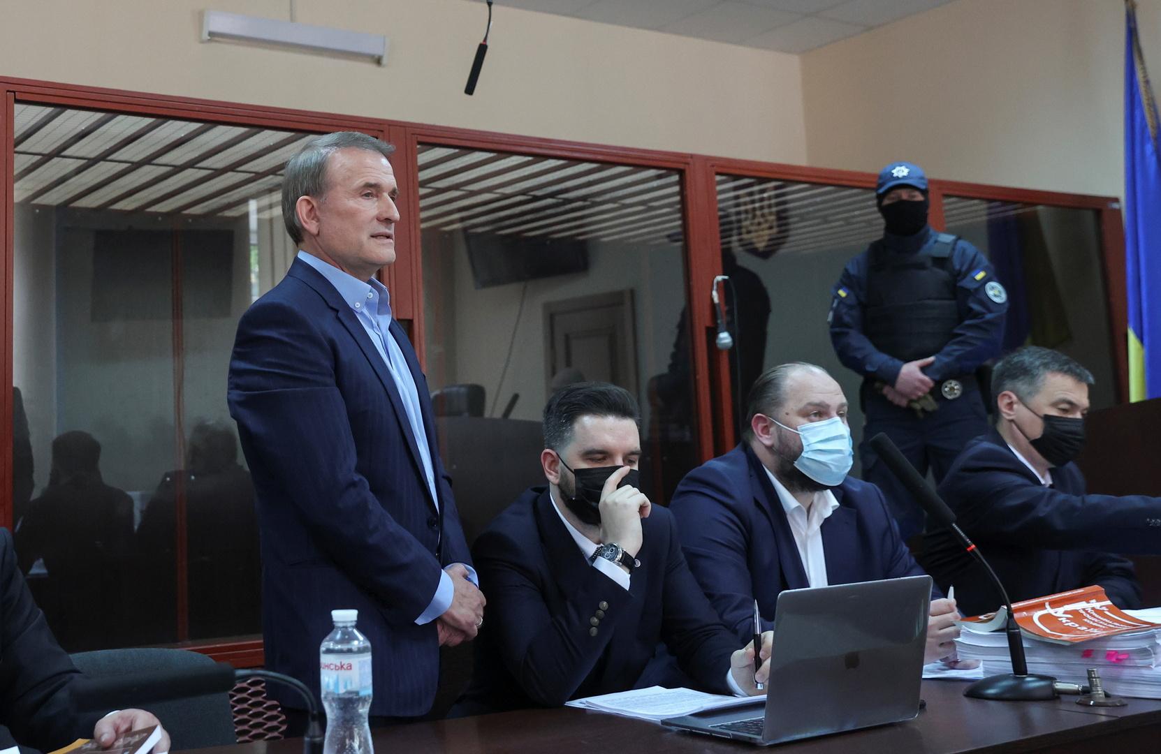 المعارض الأوكراني فيكتور مدفيدشوك