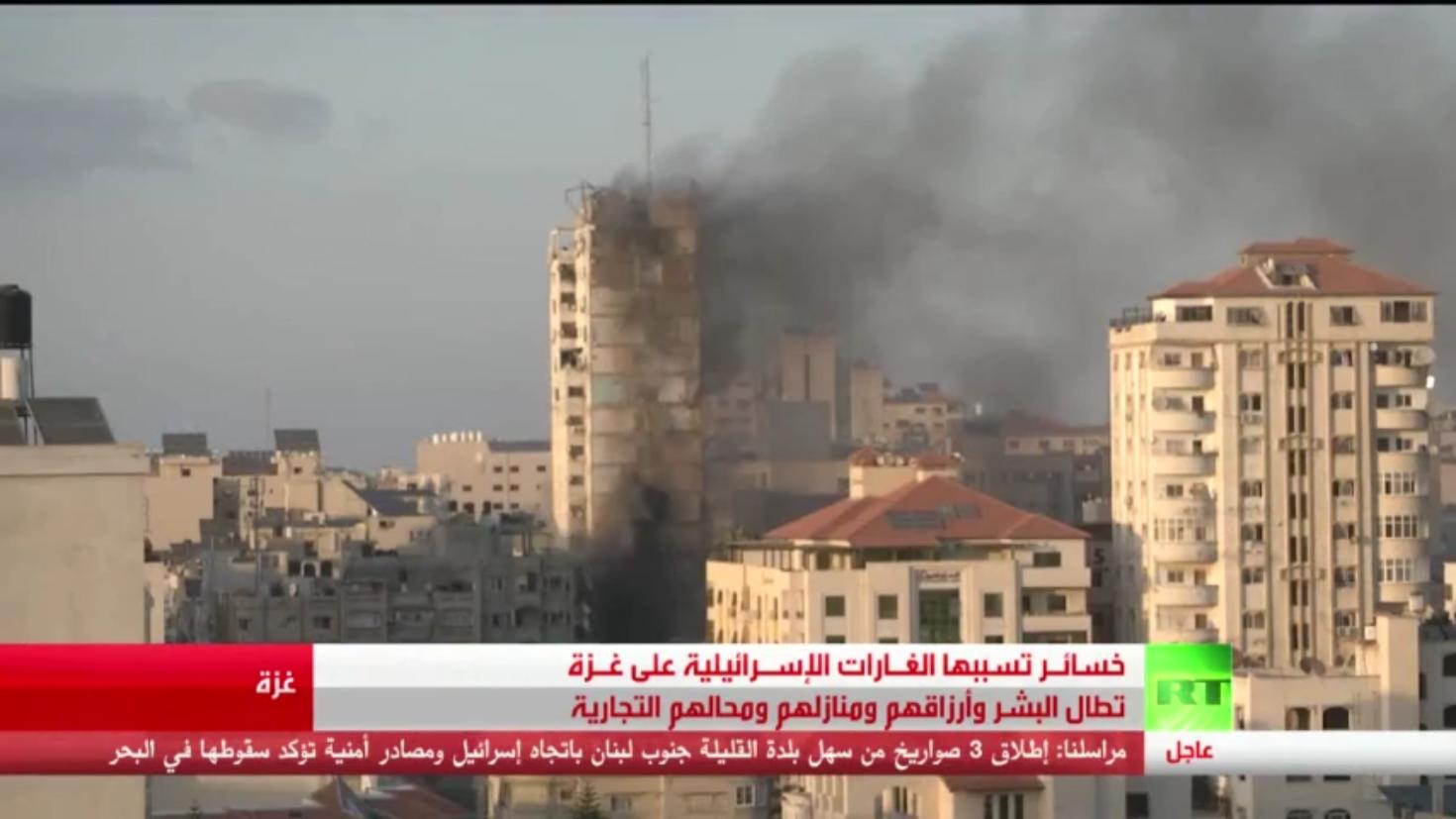غزة.. خسائر بالأرواح ودمار بالبنية التحتية
