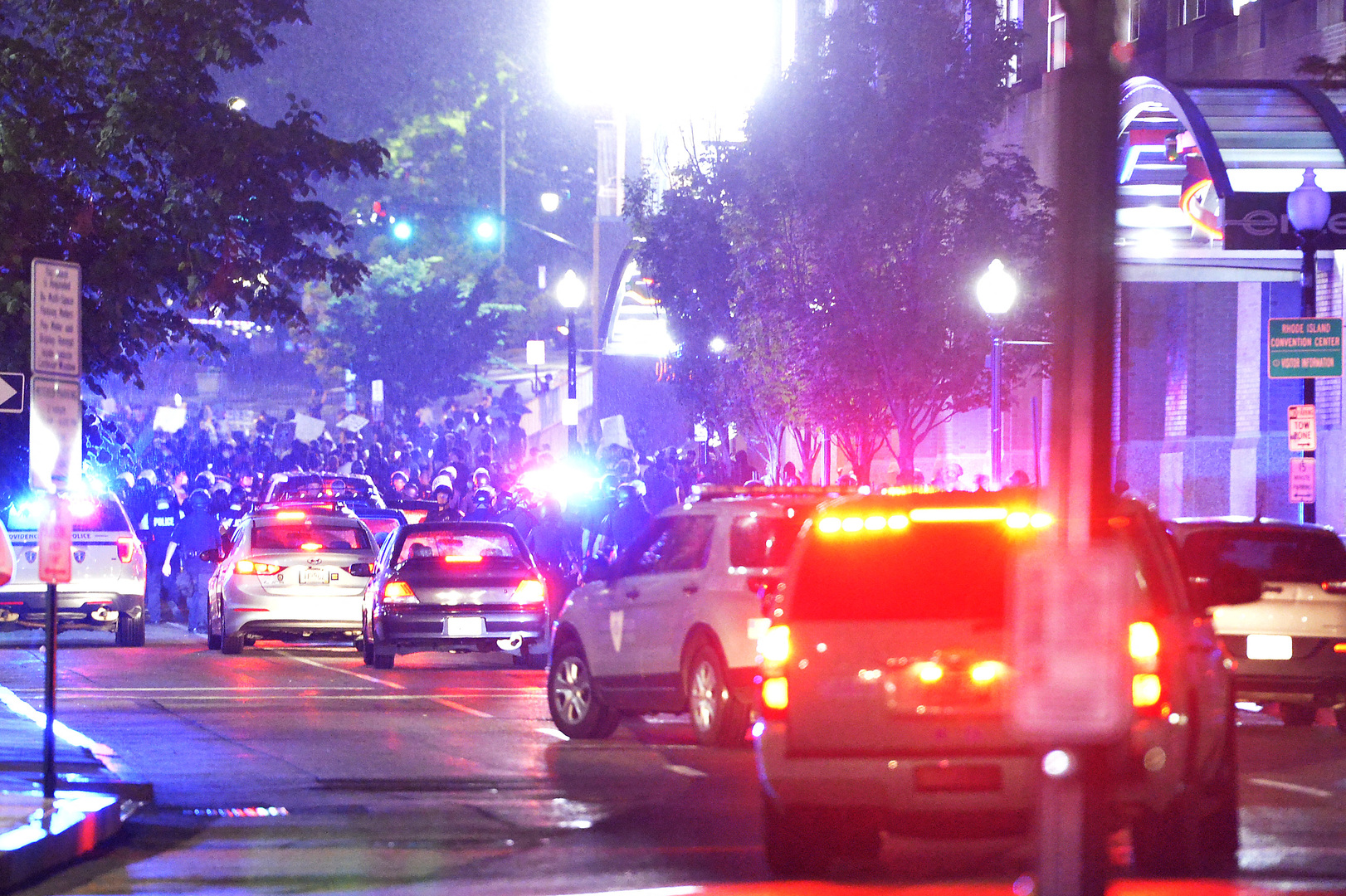 إصابة 9 أشخاص على الأقل في إطلاق نار بولاية رود آيلاند الأمريكية