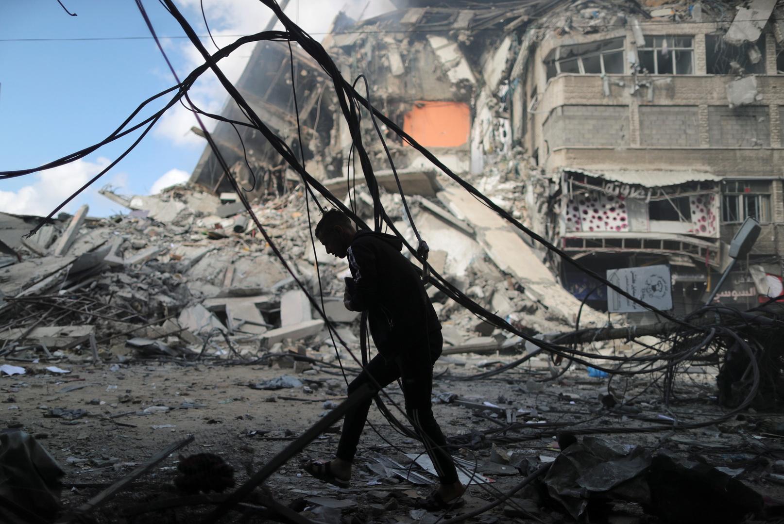 ارتفاع عدد ضحايا القصف الإسرائيلي على غزة إلى 119 قتيلا و830 مصابا