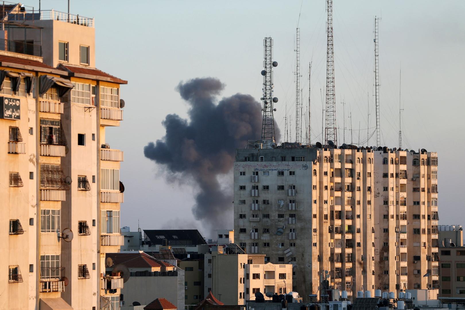 غارات إسرائيلية في قطاع غزة