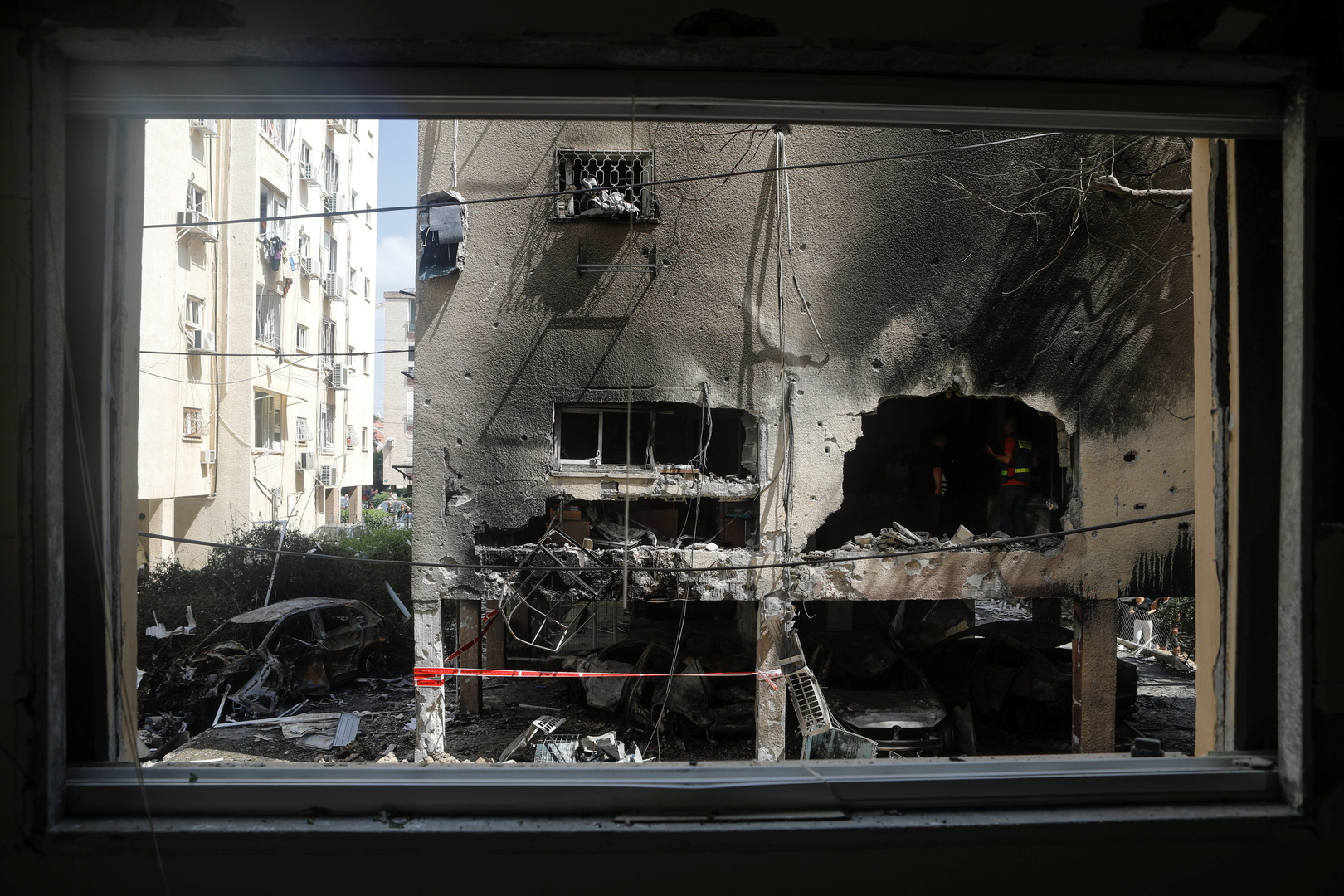 عسقلان تحت النار ... جرحى إسرائيليون في قصف فلسطيني متواصل وغير مسبوق للمدينة