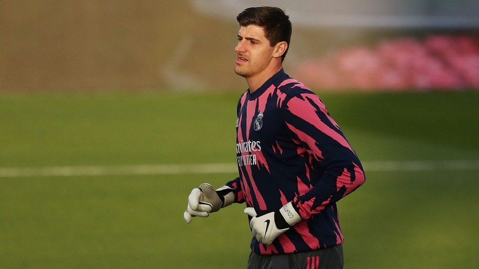 كورتوا يقدم نصيحة لزملائه في ريال مدريد للمنافسة على لقب