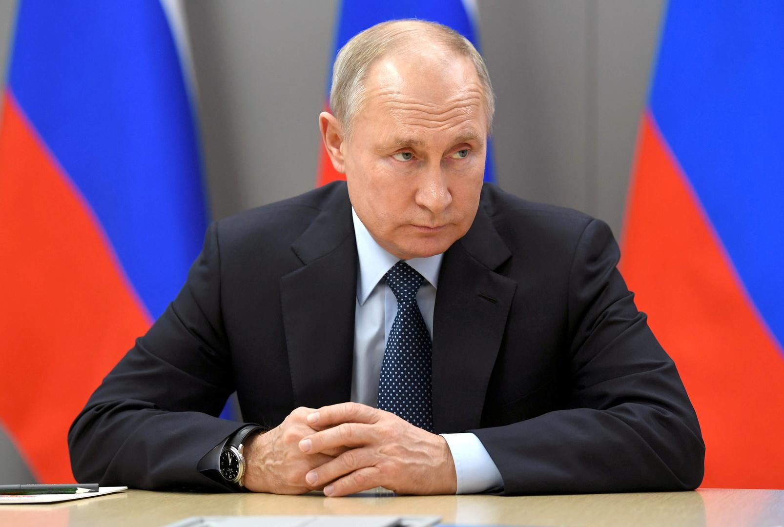 بوتين: النزاع الفلسطيني الإسرائيلي يخص بشكل مباشر مصالحنا الأمنية
