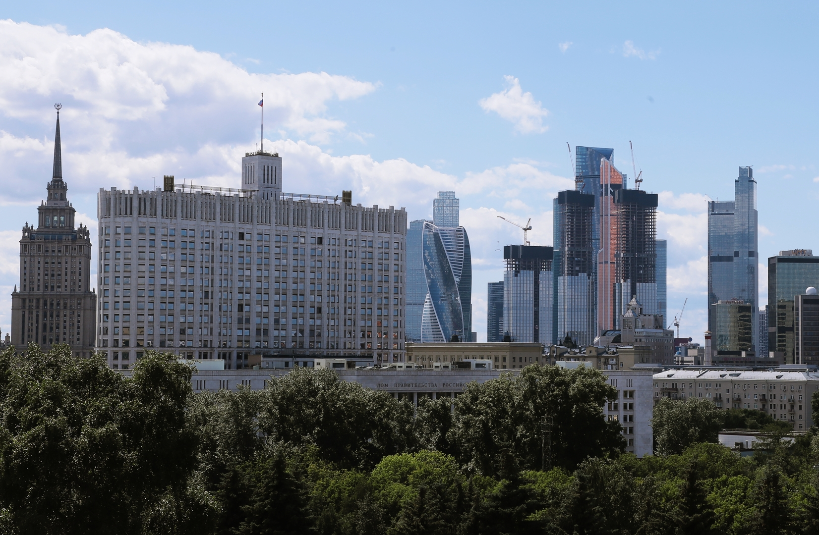 مقر الحكومة الروسية.