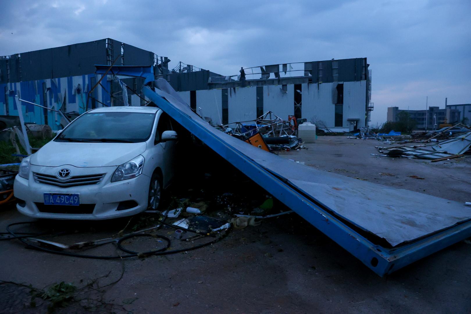 إعصاران مدمران يضربان الصين ويخلفان عشرات القتلى والمصابين (فيديو)