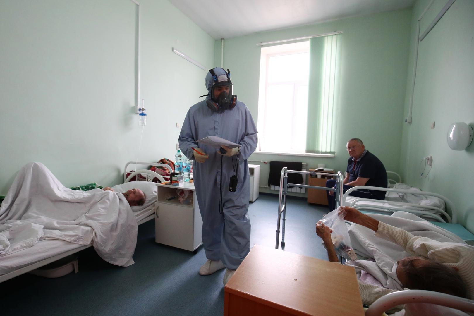 استقرار في الحالة الوبائية بروسيا وفقا لبيانات كورونا اليومية