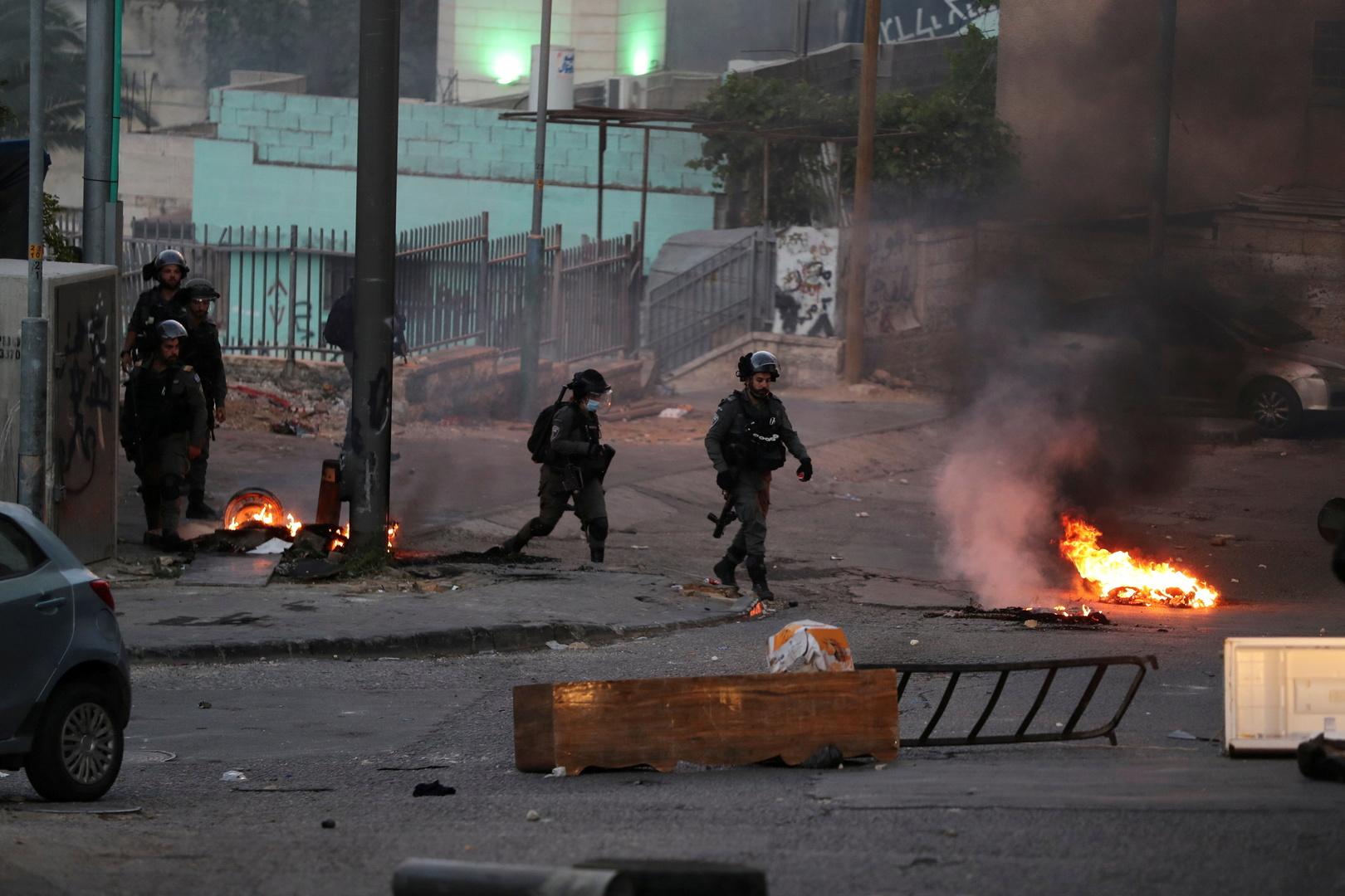 إصابة 265 رجل أمن جراء اضطرابات في مدن إسرائيلية