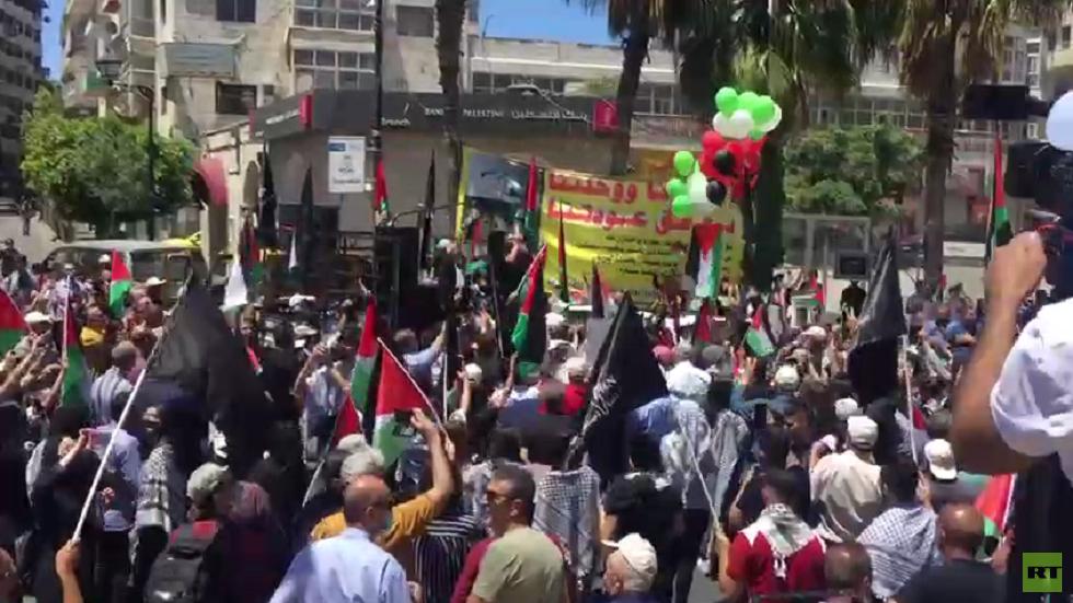 الفلسطينيون يحيون الذكرى 73 للنكبة