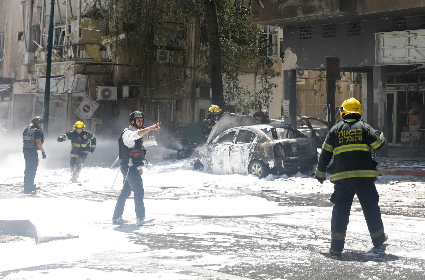 كتائب القسام توجه ضربة صاروخية لتل أبيب بعشرات الصواريخ