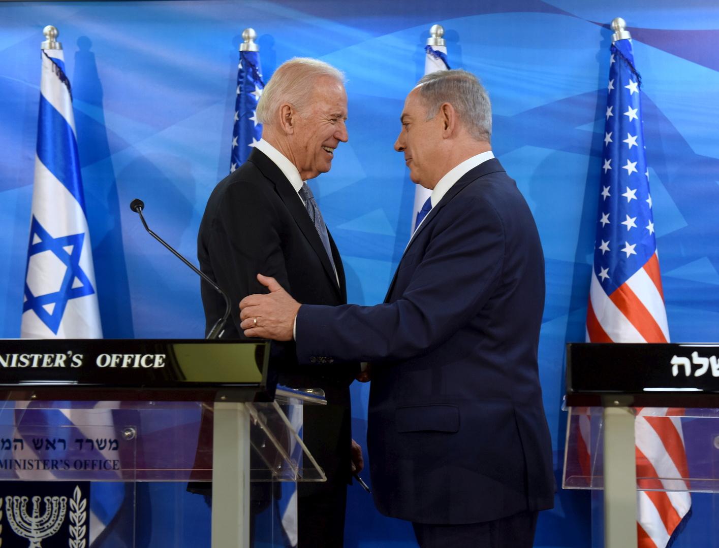 عقب تدمير برج الجلاء في غزة.. نتنياهو يتصل ببايدن ويشكره على الدعم الأمريكي