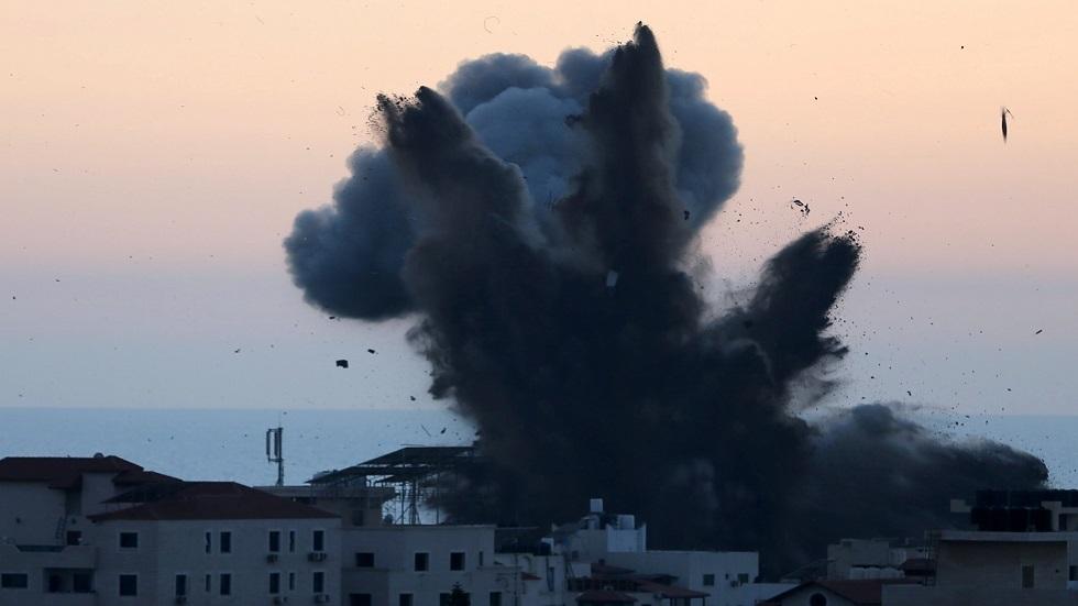 الجيش الإسرائيلي يقصف برج