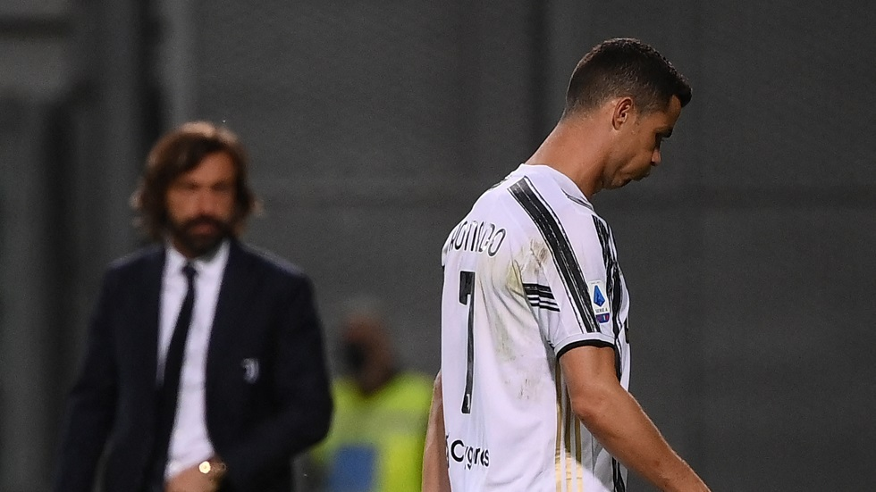 بيرلو يعلق على رد فعل رونالدو بعد استبداله