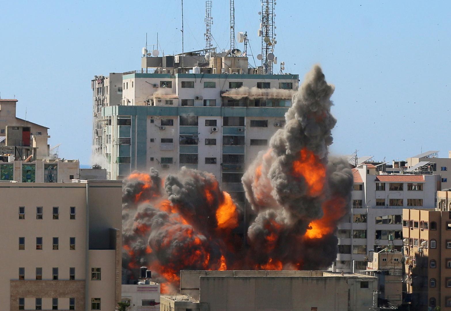 تطورات الحرب الفلسطينية الإسرائيلية لحظة بلحظة