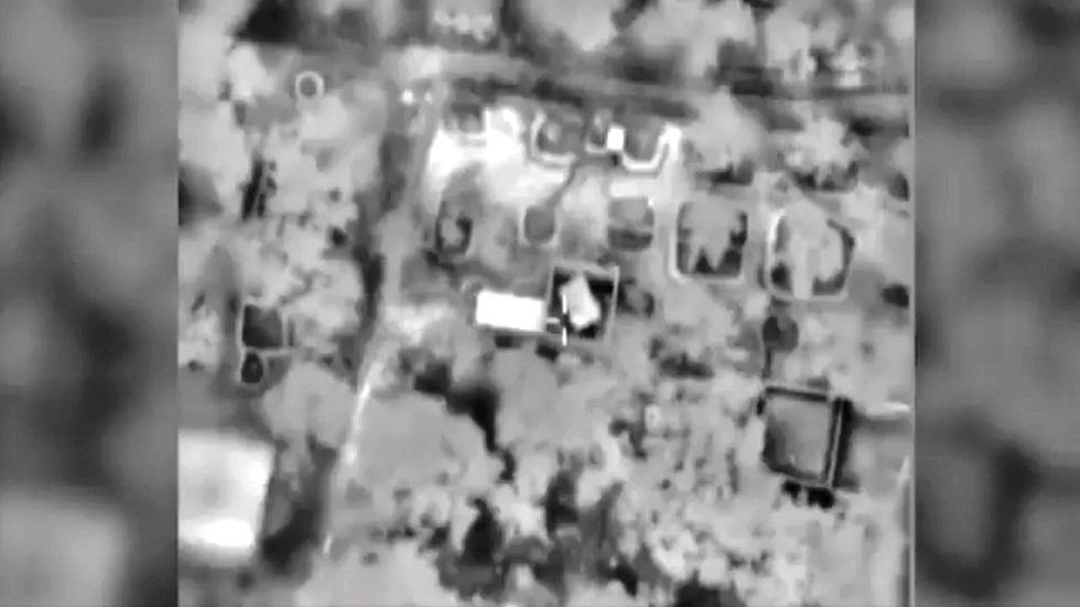 إسرائيل تعلن استهداف منزل قيادي بارز في حركة حماس (فيديو)