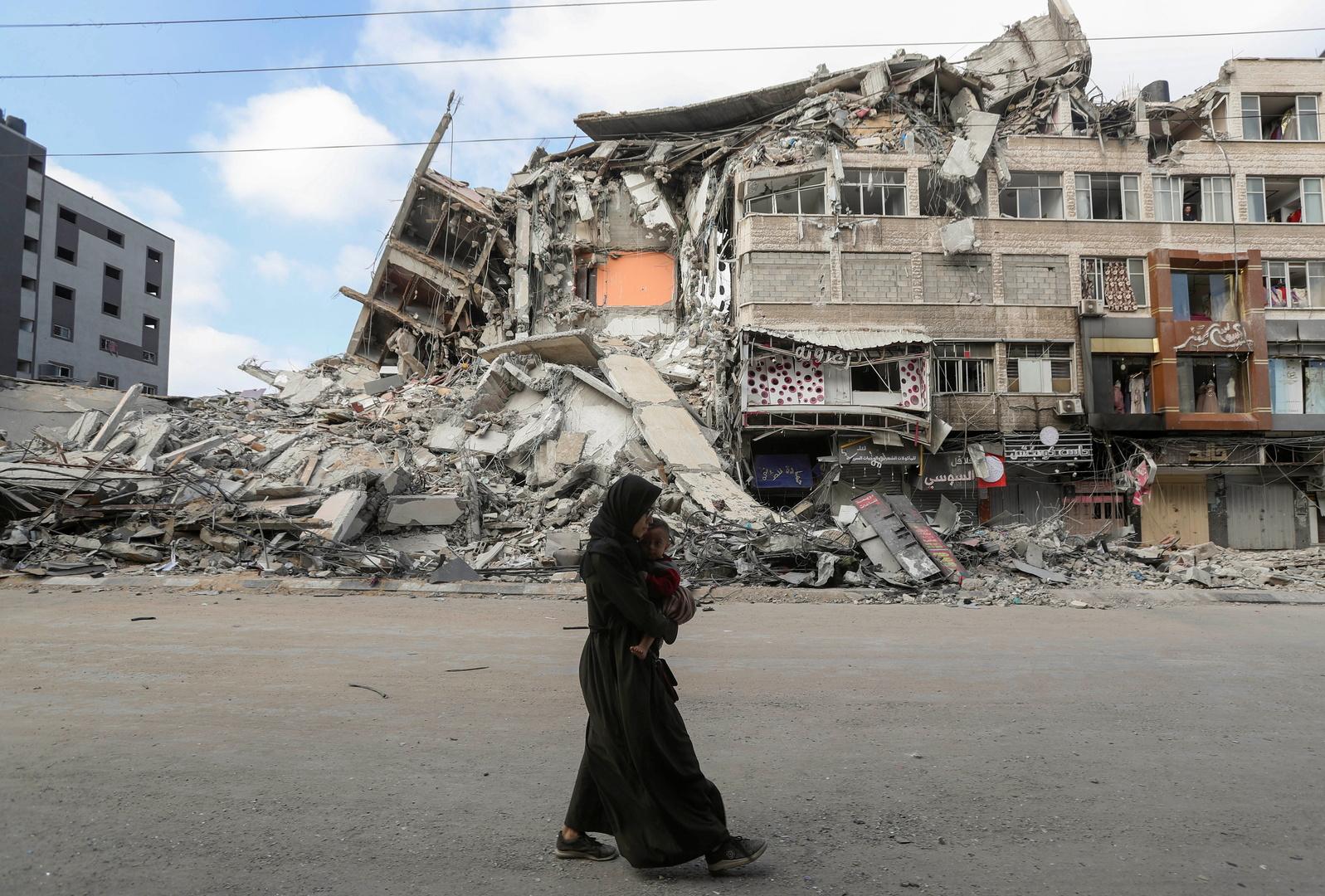 غانتس يبحث مع مبعوث أمريكي أفق التهدئة حول غزة