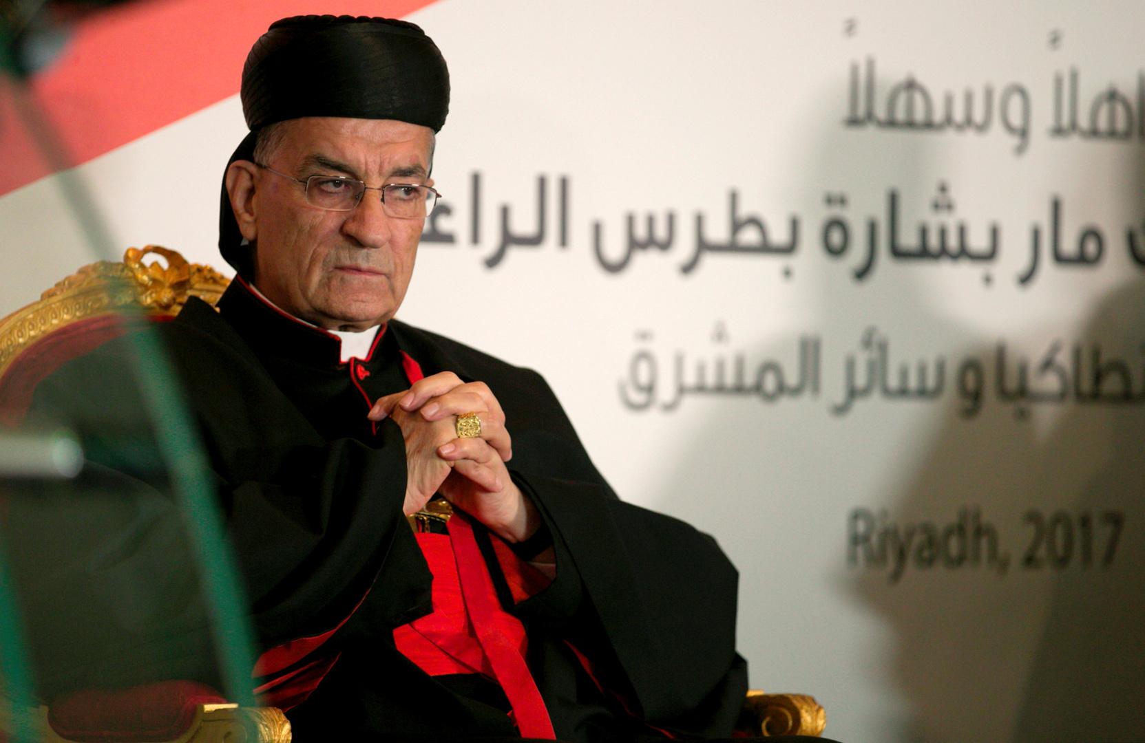 البطريرك الماروني يدعو السلطات اللبنانية لـ