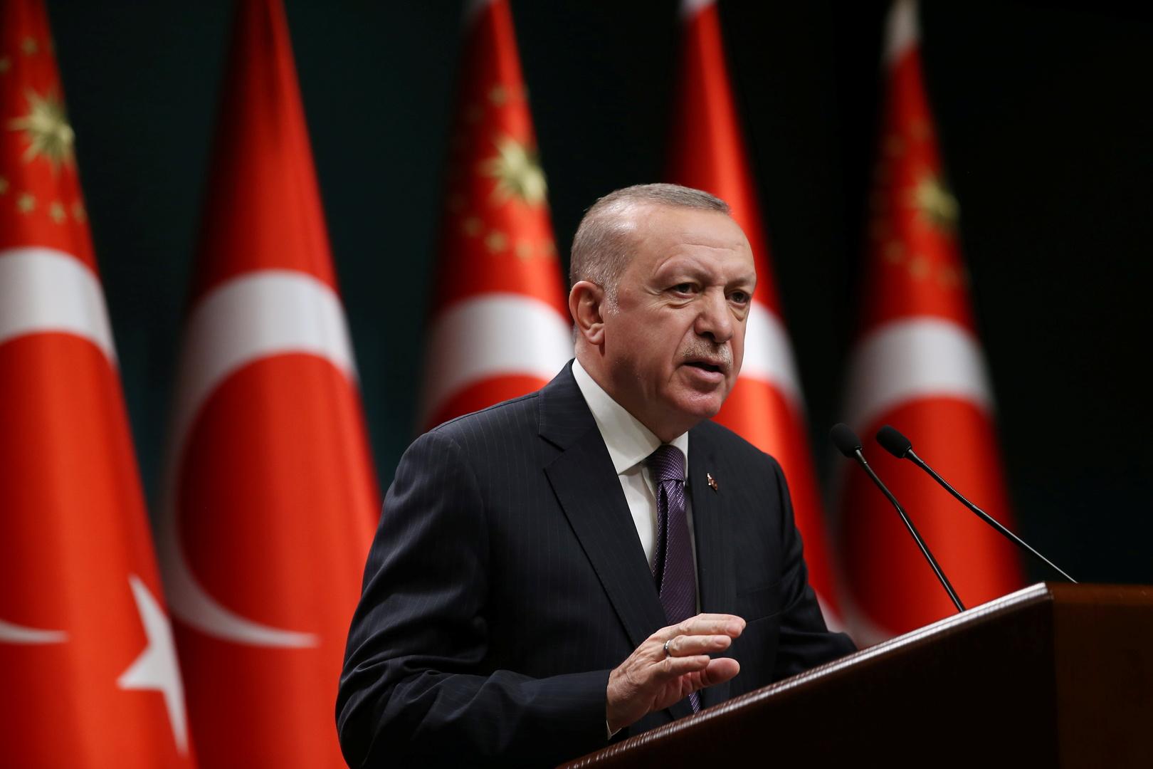 أردوغان لروحاني: تركيا أبدت رد فعلها بأشد طريقة على اعتداءات إسرائيل وظلمها في فلسطين