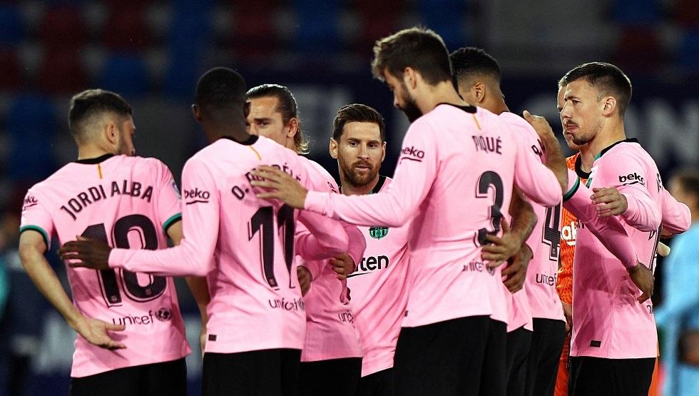 رسميا.. تشكيلة برشلونة أمام ضيفه سيلتا فيغو