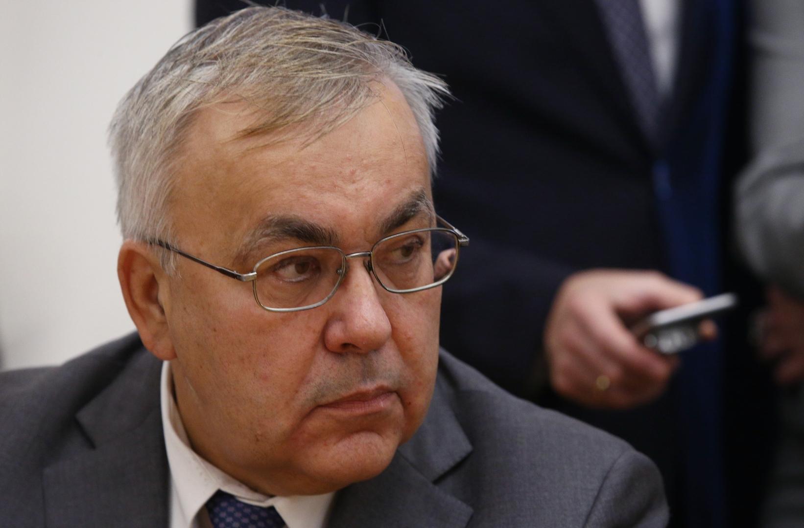 نائب وزير الخارجية الروسي، سيرغي فيرشينين.