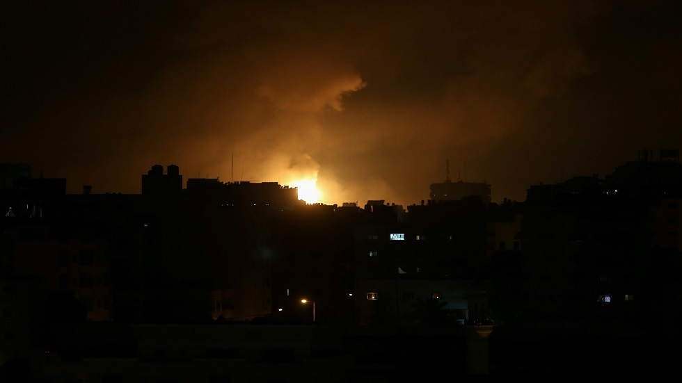 غارات على قطاع غزة