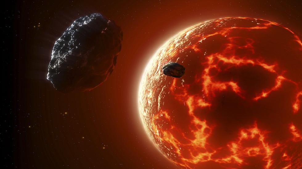 اكتشاف جزيء أرضي شائع لأول مرة في الغلاف الجوي لكوكب خارج المجموعة الشمسية!