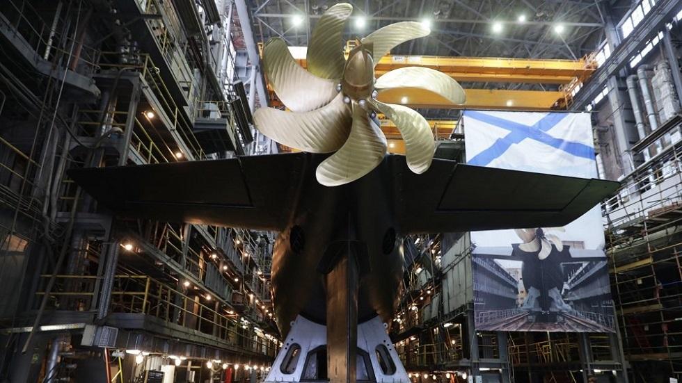 روسيا تتحضر لدعم سلاح البحرية بغواصة صاروخية جديدة