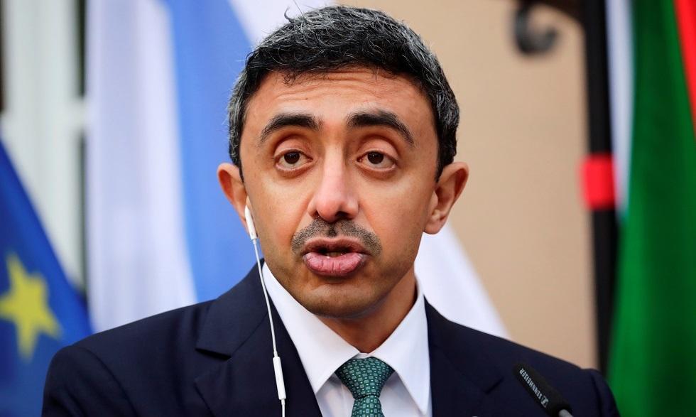 وزير الخارجية الإماراتي عبد الله بن زايد