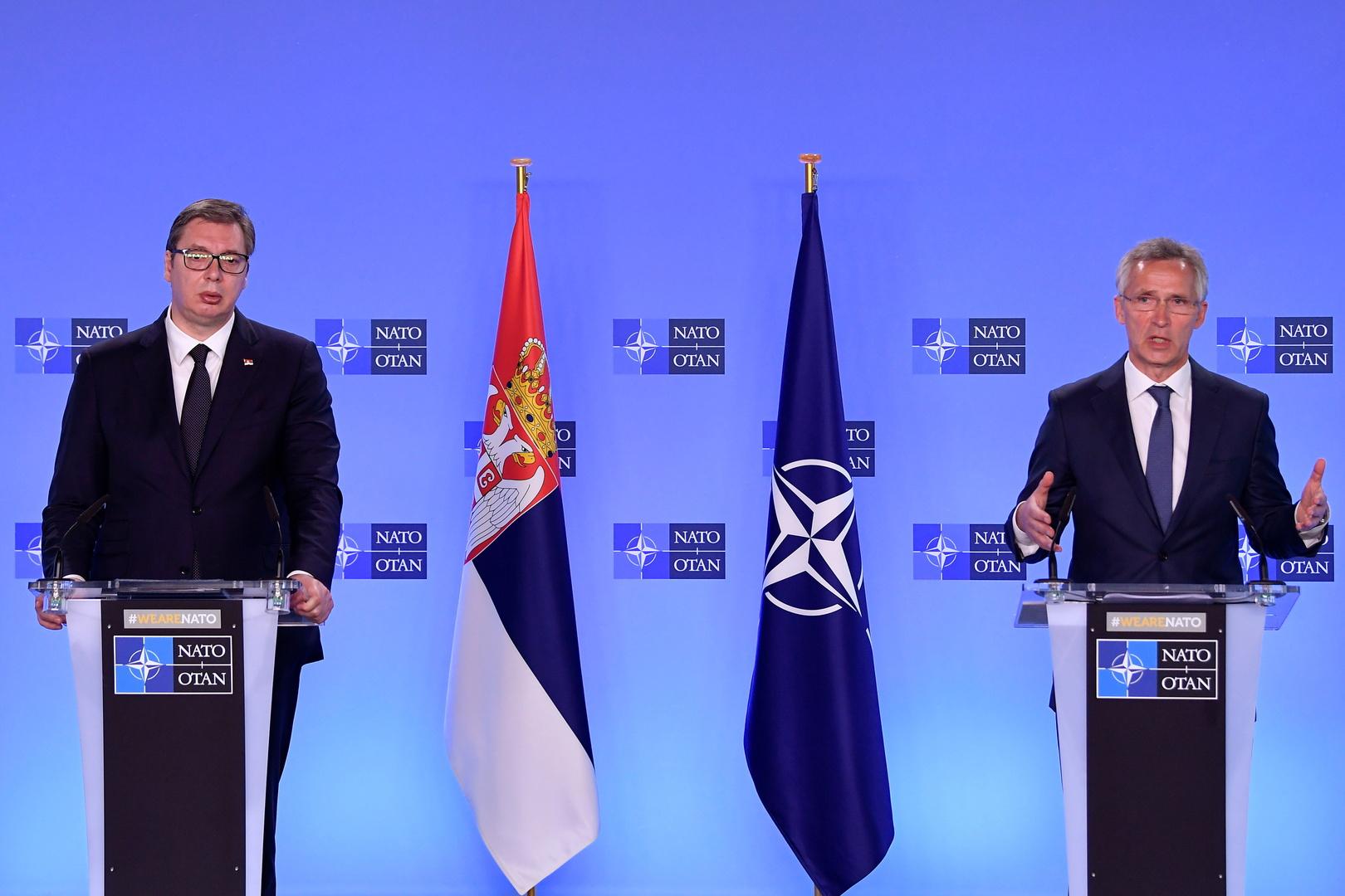 الناتو يطمئن صربيا بشأن القوات الكرواتية في كوسوفو