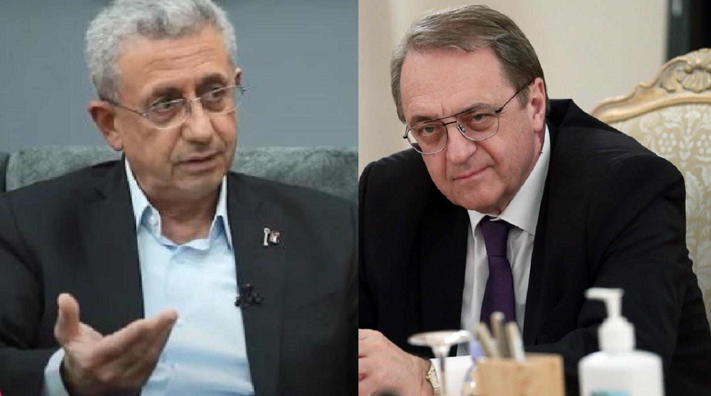 بوغدانوف والبرغوثي يبحثان إمكانية إعادة إطلاق عملية السلام بين فلسطين وإسرائيل