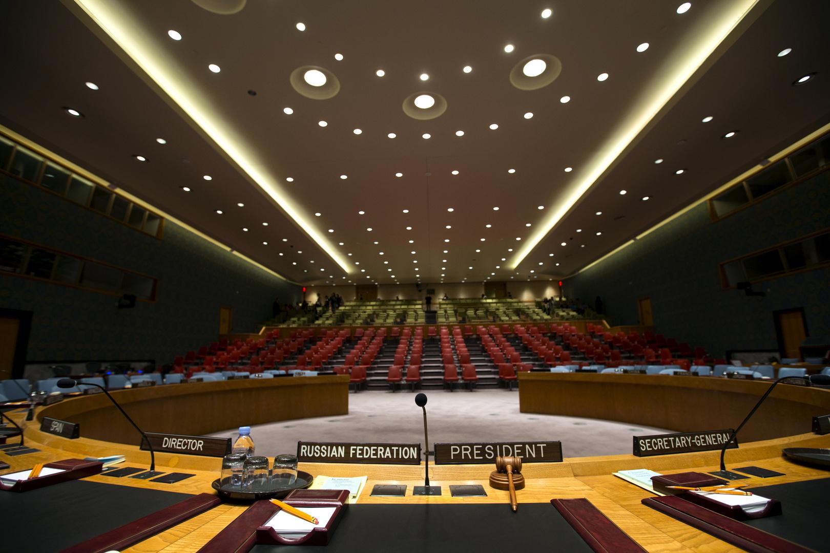 مجلس الأمن الدولي يعقد الثلاثاء اجتماعا جديدا حول التصعيد في الشرق الأوسط