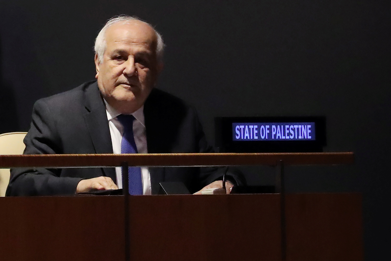 المندوب الفلسطيني في مجلس الأمن: شعبنا تصدى سلميا للأفعال الإسرائيلية الفاشية في القدس