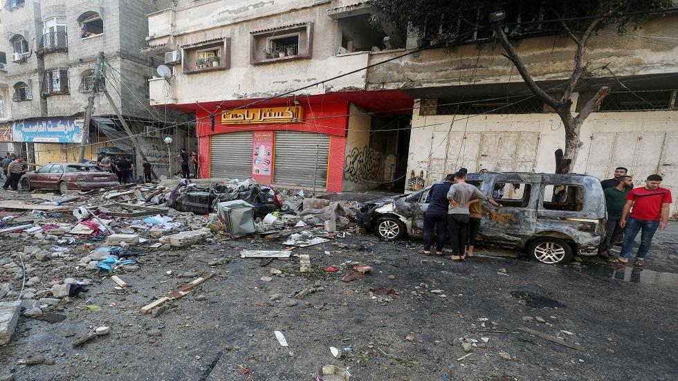 219 قتيلا  بينهم 63 طفلا وسط تواصل القصف الإسرائيلي على قطاع غزة لليوم العاشر