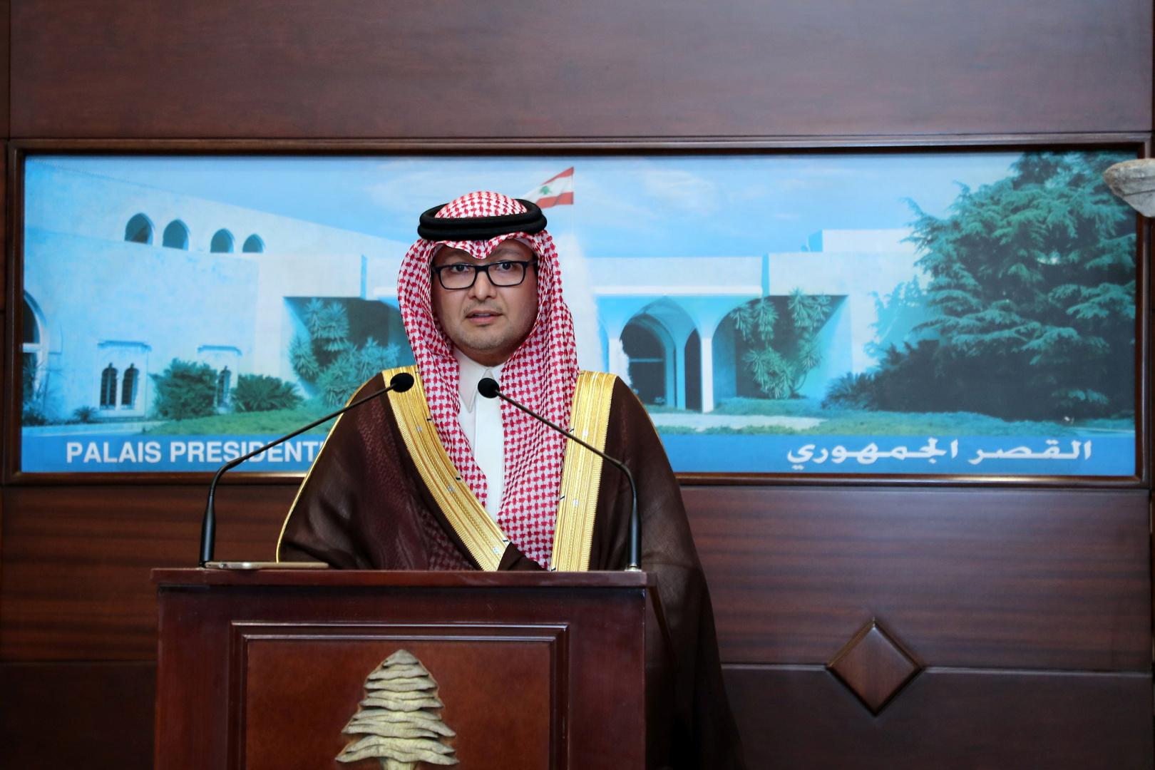 السفير السعودي لدى لبنان وليد البخاري