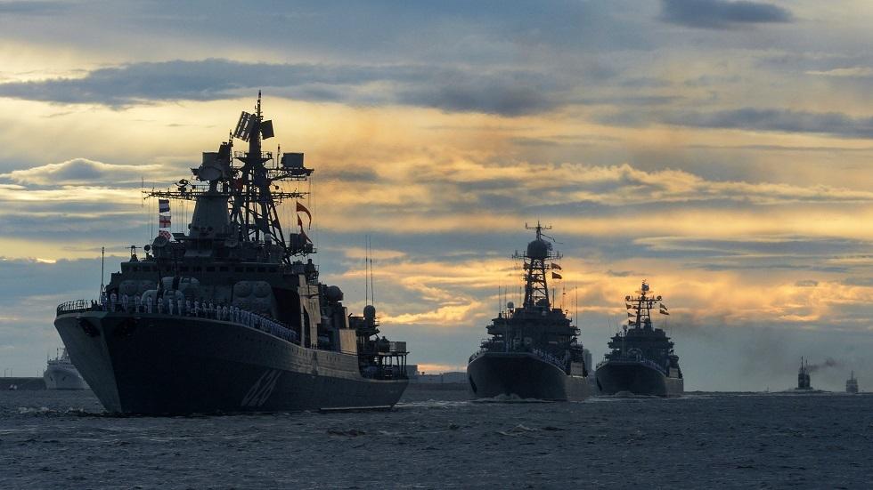 روسيا  تعزز قدرات أسطول بحر البلطيق بسفن وغواصات وطائرات جديدة
