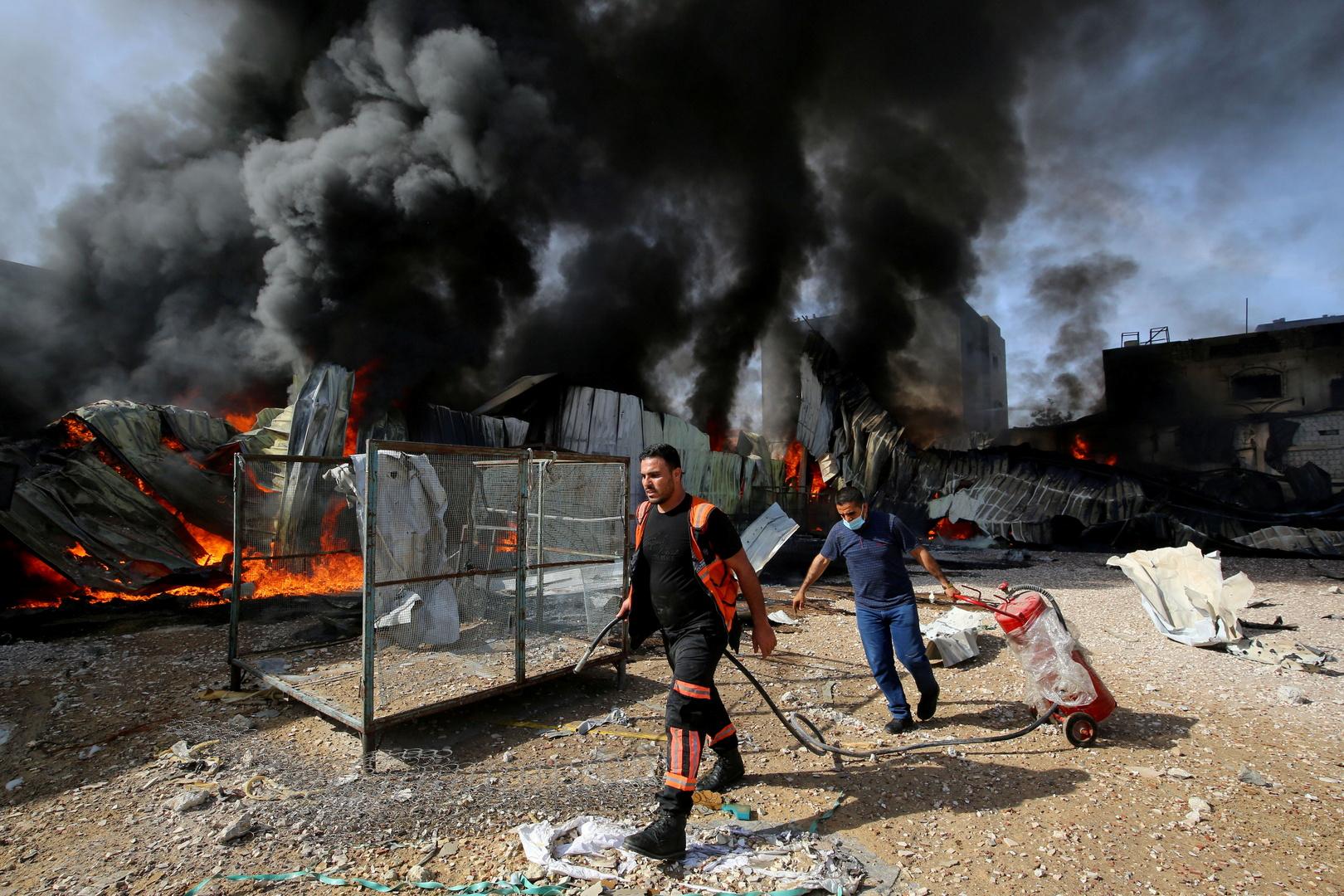 الهلال الأحمر الفلسطيني لـRT: نواجه نقصا في الأدوية والمعدات الطبية.. الوضع في غزة سيء (فيديو)
