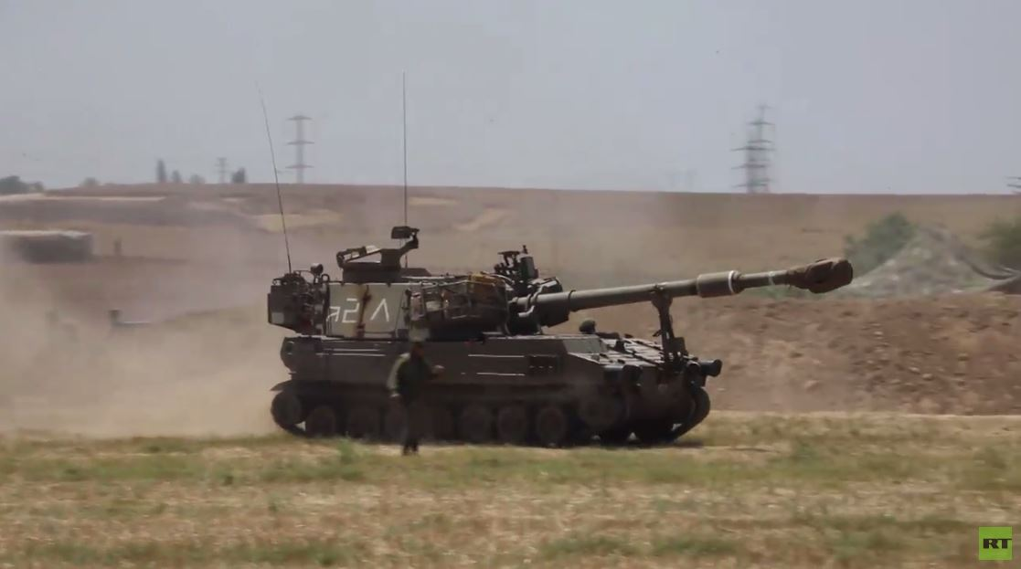 دبابات ومدفعية الجيش الإسرائيلي تطلق النار على أهداف في القطاع من ضواحي سديروت