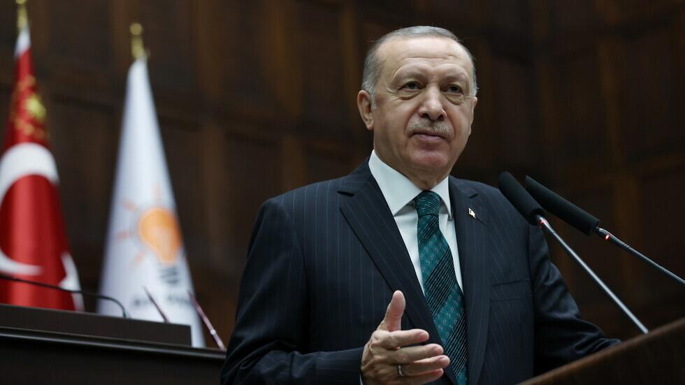 الرئيس التركي، رجب طيب أردوغان.