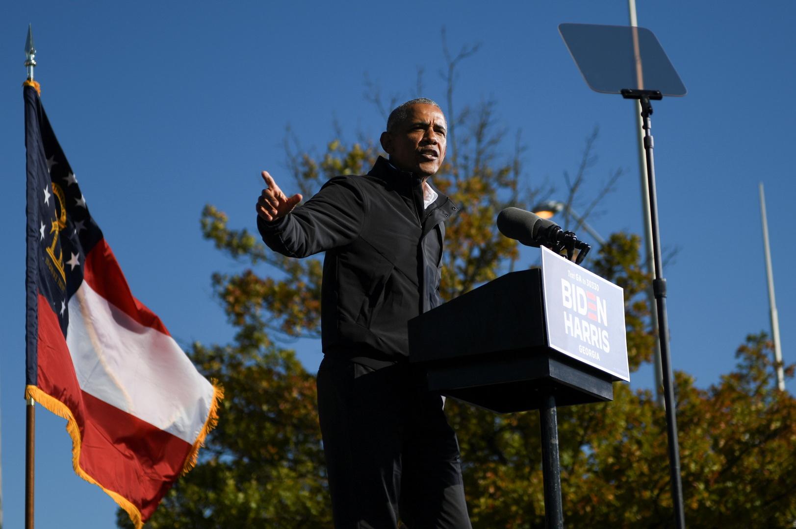 أوباما يتحدث عن حقيقة الأجسام الطائرة