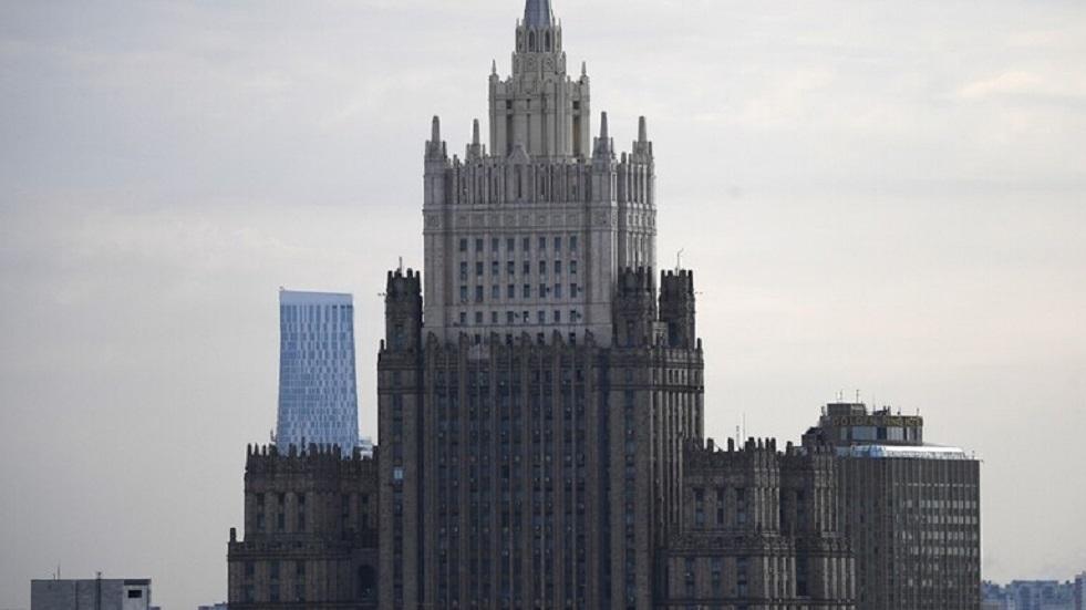الخارجية الروسية تتوعد بالرد على طرد دبلوماسي من مقدونيا الشمالية