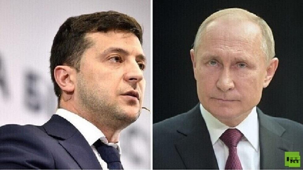 زيلينسكي يعلن عن بدء اتصالات بشأن عقد قمة مع بوتين والكرملين يعلق