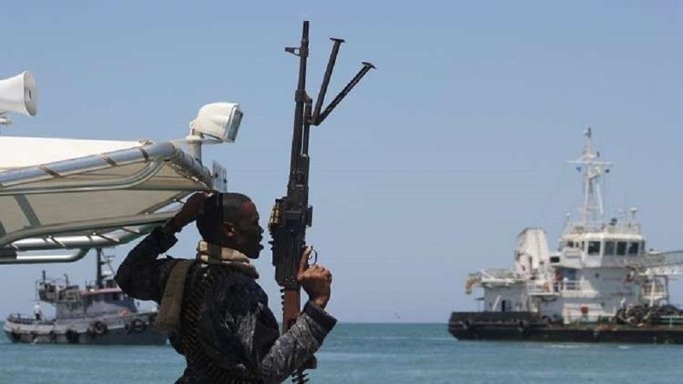 قوات أمنية عند سواحل إفريقيا - أرشيف