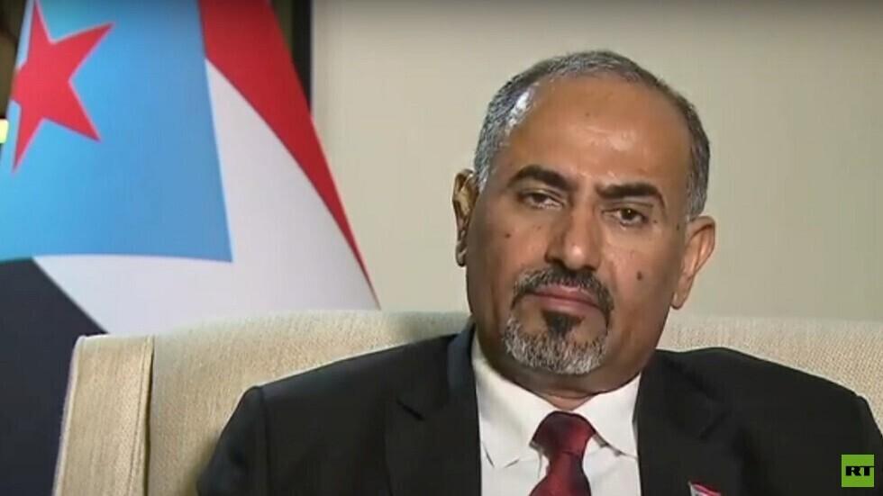 رئيس المجلس الانتقالي الجنوبي في اليمن عيدروس الزبيدي