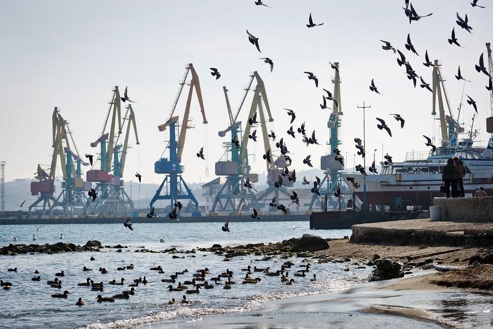 تسرب مازوت إثر اصطدام سفينة صينية بعوامة في ميناء ساخالين الروسي
