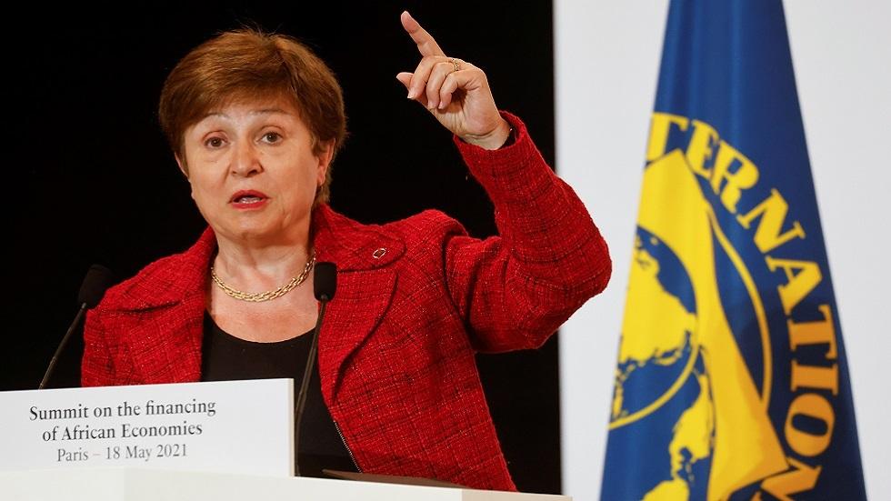 المديرة العامة لصندوق النقد الدولي كريستالينا غيورغييفا