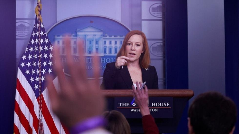 المتحدثة باسم البيت الأبيض جين بساكي - أرشيف