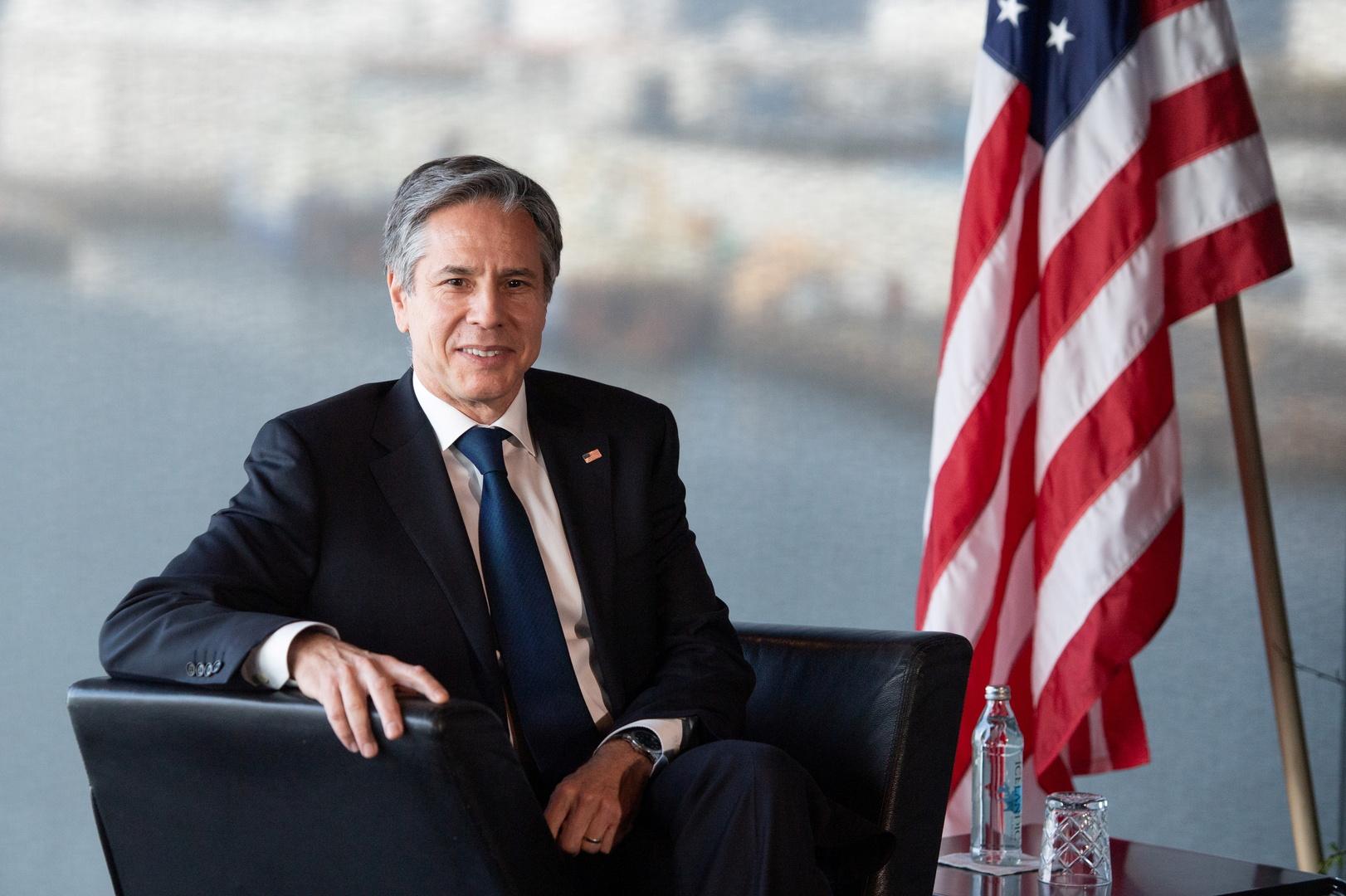 بلينكن: حل شامل ومستدام في اليمن على سلم أولويات الولايات المتحدة