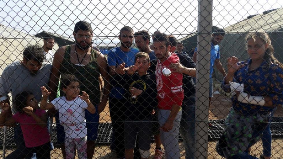 مهاجرون عالقون في قبرص - أرشيف